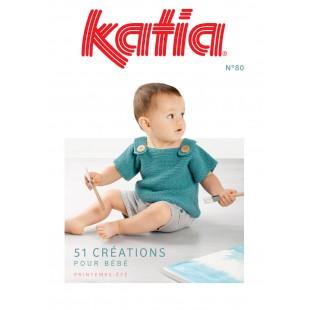 KATIA Bébé Printemps Eté N° 80Katia