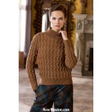 Modèle pullover 2 catalogue FAM 248 LANG YARNS