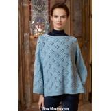 Modèle pullover 11 catalogue FAM 248LANG YARNS
