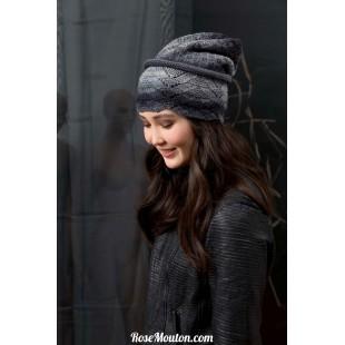 Modèle bonnet 21 catalogue FAM 249Lang Yarns