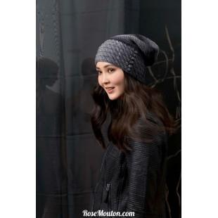 Modèle bonnet 22 catalogue FAM 249Lang Yarns