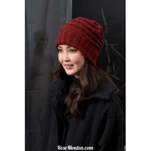 Modèle bonnet 41 catalogue FAM 249Lang Yarns