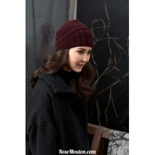 Modèle bonnet 42 catalogue FAM 249Lang Yarns