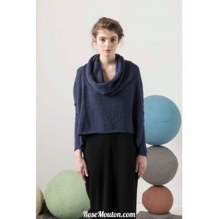 Modèle pullover oversize 11 catalogue FAM 247Lang Yarns