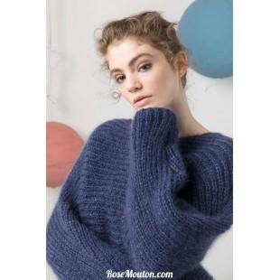 Modèle pullover 15 catalogue FAM 247Lang Yarns
