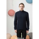 Modèle pullover homme 21 catalogue FAM 247LANG YARNS