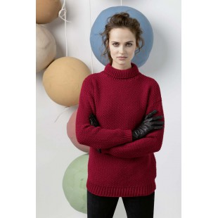 Modèle pullover 55 catalogue FAM 247Lang Yarns