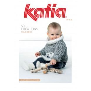KATIA 50 Créations pour bébé n° 82Katia