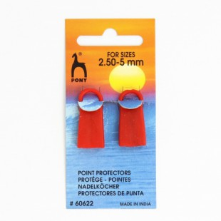 Protège pointe pour aiguilles du 2,5 à 5 mmPony