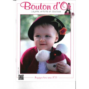 Bouton d'Or Hors Série Layette n° 25 Bouton d'Or