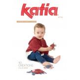 KATIA 50 Créations pour Bébé printemps été 2018 N° 84