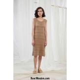Modèle robe 12 catalogue FAM 251LANG YARNS