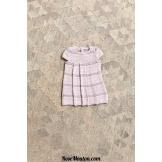 Modèle petite robe 5 catalogue FAM 250LANG YARNS