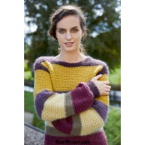 Modèle pullover 16 catalogue FAM 253 LANG YARNS