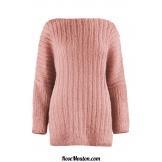 Modèle pullover 15 catalogue FAM 256LANG YARNS