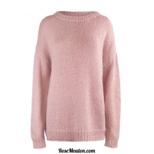 Modèle pullover 21 catalogue FAM 256Lang Yarns