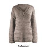 Modèle pullover 28 catalogue FAM 256