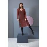 Modèle robe 10 catalogue FAM 255LANG YARNS