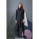 Modèle robe 27 catalogue FAM 255LANG YARNS