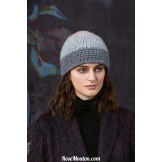 Modèle bonnet au crochet 23 catalogue FAM 258LANG YARNS