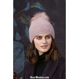 Modèle bonnet 27 catalogue FAM 258 LANG YARNS