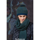Modèle bonnet 43 catalogue FAM 258 LANG YARNS