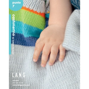 LANG YARNS Punto 7 CASHMERINO FOR BABIES & MORE Lang Yarns
