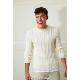 Modèle pullover homme 38 catalogue FAM 259LANG YARNS