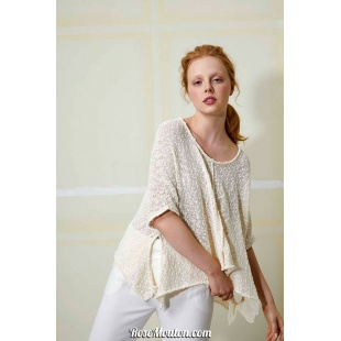 Modèle pullover 39 catalogue FAM 259Lang Yarns