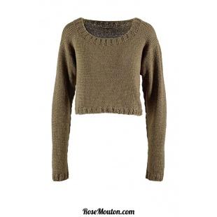 Modèle pullover 12 catalogue FAM 260Lang Yarns