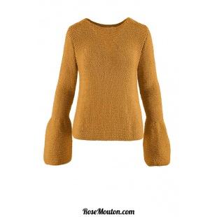 Modèle pullover 16 catalogue FAM 260Lang Yarns