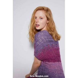 Modèle pullover 1 Punto 9 BLOOMLang Yarns