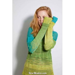 Modèle pullover 4 Punto 9 BLOOMLang Yarns