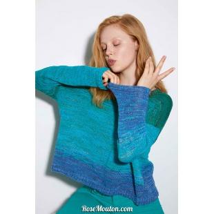 Modèle pullover 7 Punto 9 BLOOMLang Yarns