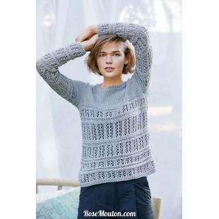 Modèle pullover 5 Punto 10 SOFT COTTONLang Yarns