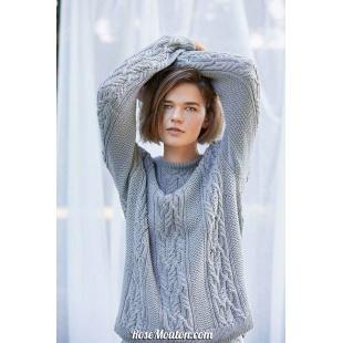 Modèle pullover unisexe 7 Punto 10 SOFT COTTONLang Yarns
