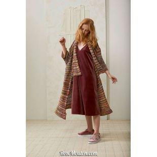 Modèle manteau 2 Punto 11 LILYLang Yarns
