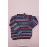 Modèle pullover raglan 1 catalogue FAM 254