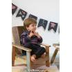 Modèle pullover raglan 1 catalogue FAM 254Lang Yarns