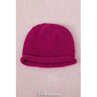 Modèle bonnet 4 catalogue FAM 254Lang Yarns