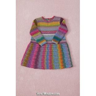 Modèle robe 12 catalogue FAM 254Lang Yarns