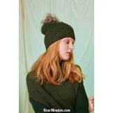 Modèle bonnet 3 catalogue FAM 261LANG YARNS
