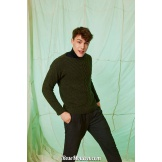 Modèle pullover homme 5 catalogue FAM 261LANG YARNS