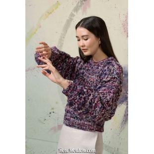Modèle pullover 4 Punto 14 LYONELLang Yarns