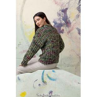 Modèle pullover 11 Punto 14 LYONELLang Yarns