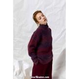 Modèle pullover 1 Punto 15 CARINALANG YARNS