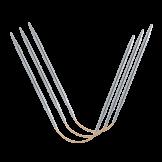"""Addi """"CraSy Trio"""" Long 26 cm, aiguilles flexibles pour chaussettes"""