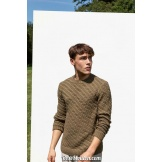 Modèle pullover homme 44 catalogue FAM 263 LANG YARNS