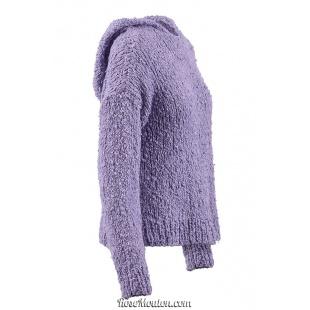 Modèle pullover à capuche 6 catalogue FAM 264Lang Yarns