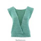 Modèle top au crochet 22 catalogue FAM 264LANG YARNS